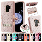 for Samsung Galaxy S9 Plus G965 TUFF Diamond Bling Case Cover Kickstand+PryTool