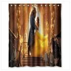 new beuty and the beast shower curtain waterproof 60 x 72 inch