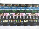 1m STAR WARS GROSGRAIN RIBBON 22mm CRAFTS DUMMY CLIPS CAKE GIFT WRAP £1.55 GBP on eBay