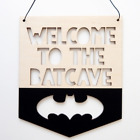 Wooden Hanging Sign Infant Nursery Baby Kids Bedroom Door Wall Decorative 18*21