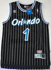 Throwback Hardwood Jersey TRACY McGRADY 1 Orlando Magic Black Striped Mens NWT on eBay