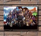 Game Of Thrones All Characters Print 20x30 24x36 40in Silk Poster KX765