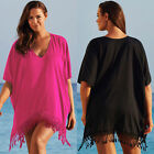 Plus Size Womens Bikini Cover Up Beachwear Swimwear Kaftan B