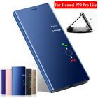 For Huawei P20 Pro/Lite Case 360° Mirror Clear View Flip Stand Case Cover Skin