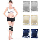 1 Pair Sports Knee Support Pad High Compression Padded Knee Sleeve Brace
