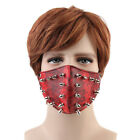 Goth Punk PU Leather Steampunk Biker Mask Masquerade Cosplay Mask Men Women Prop