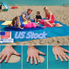 US Sandrproof Outdoor Beach Mat Park Picnic Sand Magic Mat Blanket Mattress