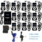 EXMAX ATG-100T 195-230MHz Wireless Tour Guide Monitoring System Microphone Ea...