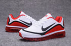 NIKE AIR MAX 2017 Men's Running Trainers Shoes White/Red New in Box Size 8-13