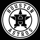 HOUSTON ASTROS LOGO CAR DECAL VINYL STICKER WHITE 3 SIZES on Ebay