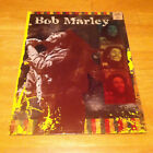 BOB MARLEY 2 POCKET FOLDER RARE HTF ONE LOVE WAILERS REDEMPTION NO WOMAN NO CRY