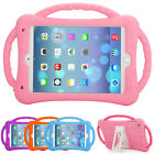 Kids Safe Silicone Shockproof Handle Stand Case Cover For iPad 2 3 4 5 Air Mini