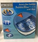 Brand New HoMedics BB-3 Bubble Bliss Foot Massager with Infrared Heat