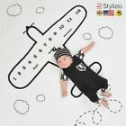 Nordic Baby Blanket Polyester Cotton Letter Pattern Blankets Newborn Photographi