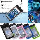Swimming Waterproof Underwater Pouch Bag Pack Dry Case for iPhone Cell Phone