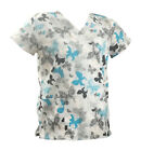 Women's Fashion Medical Nursing Scrub Tops Part3