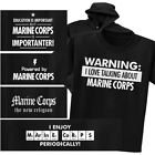 about marine corps - MARINE CORPS T-shirt or Hoodie - Warning Powered New Religion Chemistry