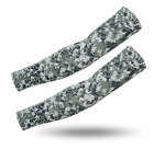 2Pair(4pieces)Sport Cooling Arm Sleeves Cover Sun Protective UV Cover Camouflage