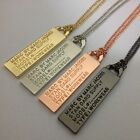 Внешний вид - NEW Marc by Marc Jacobs Letters tag Pendant Long Polishing Necklace 4Colors