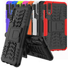For Huawei P20 Case Rugged Armor Shockproof Protective Phone Cover and Kickstand