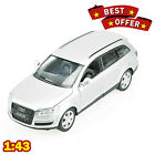 1/43 Audi Q7 AUTOPROM Diecast Metal Model Red / Black / White Limited Edition