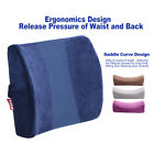 4 Colors Rebound Memory Foam Pillow Back Support Rest Cushion Car Office Chair
