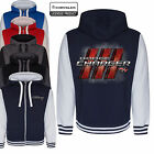 Dodge Charger Varsity Hoodie Jacket Mopar Classic American Muscle Car Clothing $75.65 CAD on eBay
