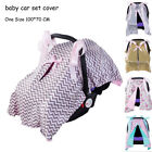 Baby Car Set Cover Toddler Stroller Accessories Cover Boy Girl Blanket Set Seat