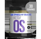 KAN 15, 30 60 day Servings Tub KETO OS 3.0 Chocolate Swirl Charged Free Caffeine