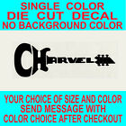 Charvel Guitars Die Cut Vinyl Decal Truck Window Case Sticker Reproduction