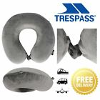 Trespass Memow Memory Foam Travel Pillow for Camping Removable Cover