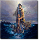 Our Refuge and Strength by Morgan Weistling - Jesus Christ - Walking on Water