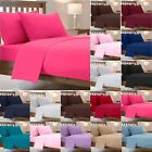 Easy Care Plain Dyed Duvet Cover Sets Super Soft Luxurious Cosy Bedding Sets NZ