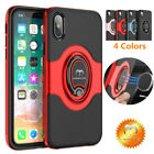 For iPhone X 7 8 Plus Mosafe® Silicone Soft Hybrid Bumper Ultra Thin Case Cover