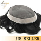 Fine Mono Poly Men's Toupee Hairpieces Promotion Best Sale Systems Replacements