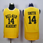 #14 Will Smith Yellow Jersey Stitched The Fresh Prince of Bel Air Academy Jersey