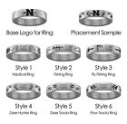 Nicholls State Colonels Hunting and Fishing Rings | Stainless Steel 8mm Wide