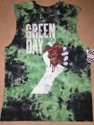 GREEN DAY band TOUR Billie Joe ARMSTRONG Grenade MEN'S TIE-DYE Tank Top T-Shirt