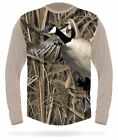 Canada Goose T-Shirt Short Sleeve - Geese Hunting Camo Clothing