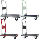 FOLDING PLATFORM TRUCK WAREHOUSE CART PICKING SACK TROLLEY TRANSPORT 150, 300KG