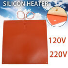 Silicone Heater Pad 310x310mm Heating For CR-10 3D Printer Bed w/ Screw Holes