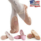 Kyпить Nexete Leather Ballet Shoes Slippers Split Sole Flats For Toddler Girl Boy Kid  на еВаy.соm