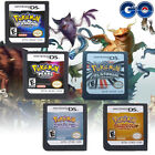 Pokemon SoulSilver HeartGold Platinum Diamond Pearl Game Cards For Nintendo 3DS