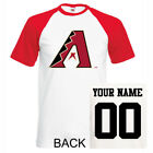 Arizona Diamondbacks shirt tee jersey custom name number kid men lady Baseball on Ebay