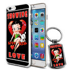 Betty Boop Design Hard Case Cover & Free Keyring For Various Mobiles - 11 $9.46 AUD on eBay