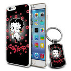 Betty Boop Design Hard Case Cover & Free Keyring For Various Mobiles - 26 $9.46 AUD on eBay