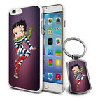 Betty Boop Design Hard Case Cover & Free Keyring For Various Mobiles - 02 $9.46 AUD on eBay