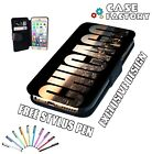 Beautiful Chicago Skyline City Print USA - Leather Flip Wallet Phone Case Cover