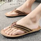 Summer Mens Flip Flops Flat Beach Slippers Casual Anti skid Sandals Comfy New