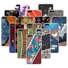 For Huawei Honor 4X Play Hard Case Cover Cloth Butterfly Flowers Stone Rose Bird